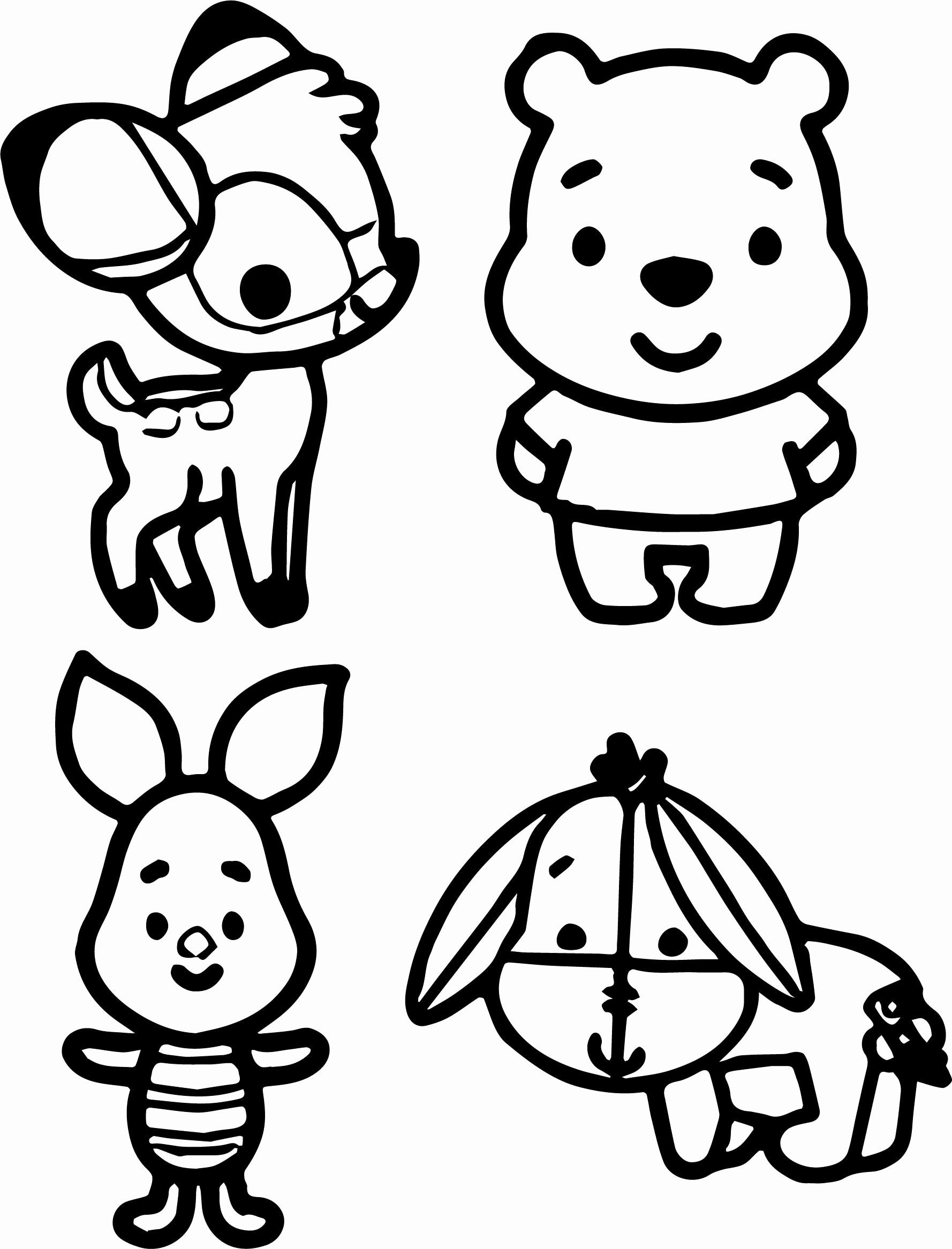 Disney Baby Coloring Pages Inspirational Baby Pooh and