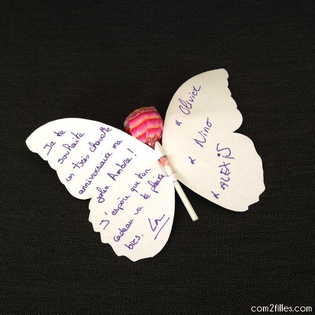 Favori 3 DIY pour un anniversaire sur le thème des papillons | Sucette  YW58