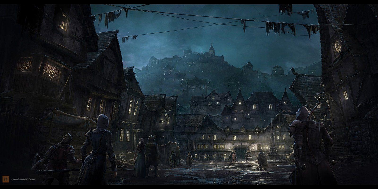 Thumb 1920 387254 Jpg 1600 800 Fantasy Town Concept Art World Fantasy Landscape
