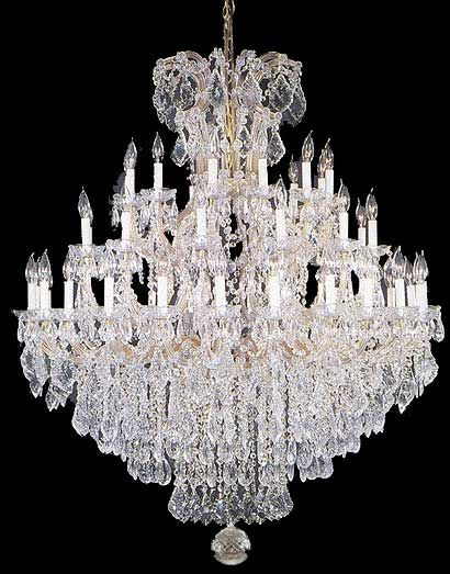 Maria Theresa Chandelier A83 21502/36+1 This Would Be Perfect For The