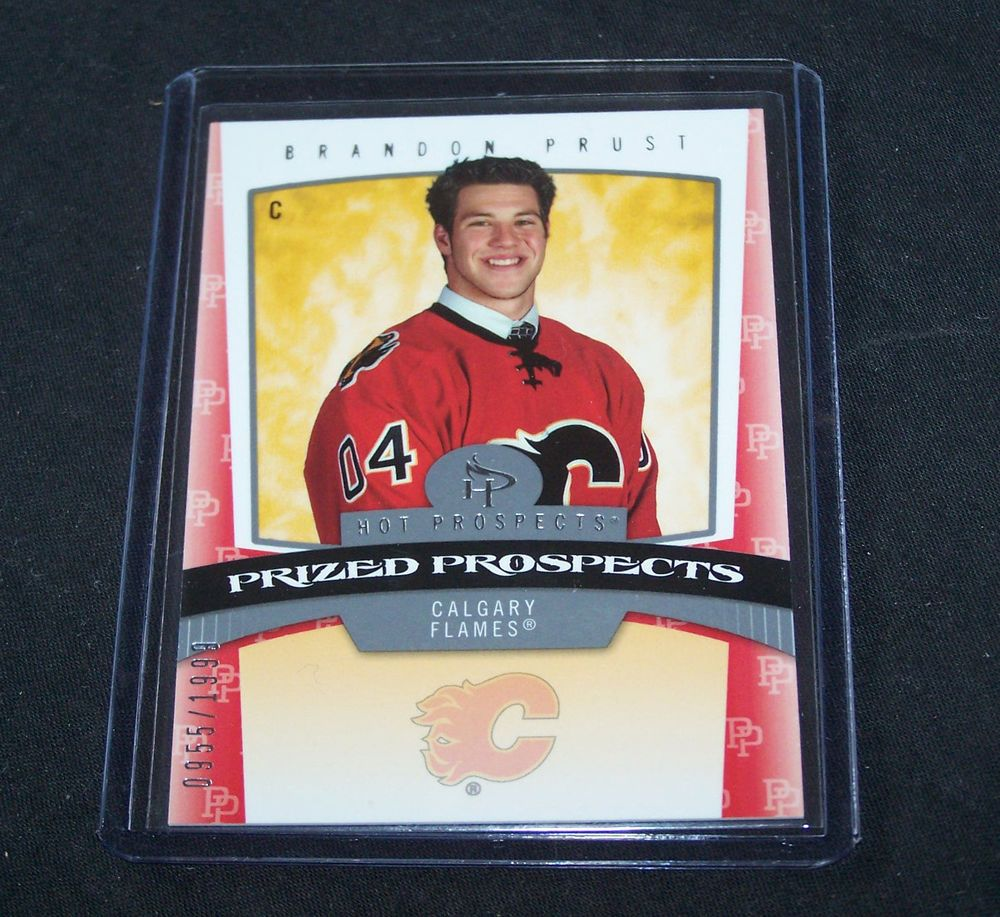 0607 Fleer Hot Prospect Brandon Prust 151 955/1999