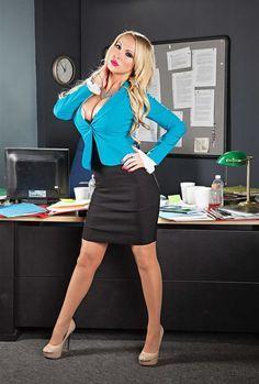 Nikki benz fucking in plaid skirt, necking petting sex