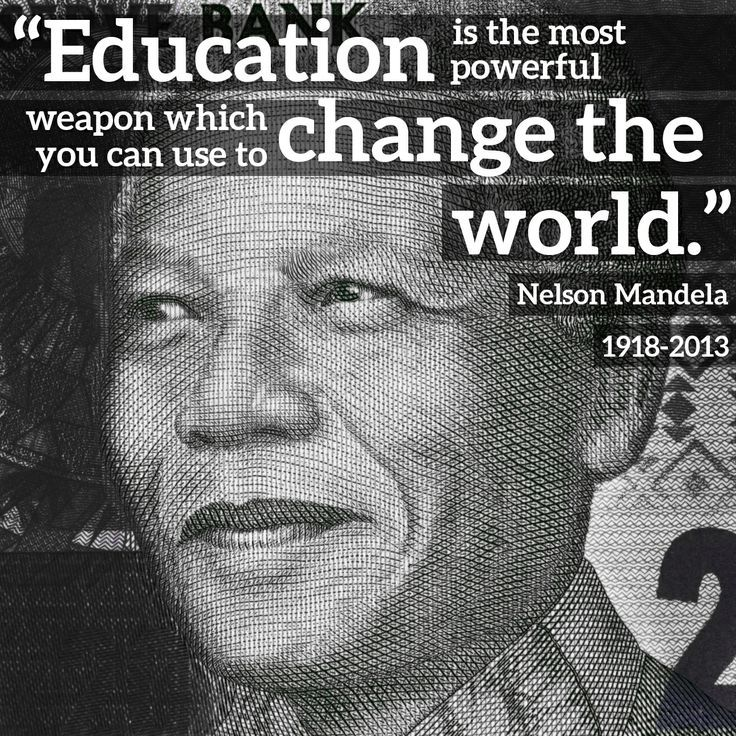 education is the most powerful weapon nelson mandela meaning