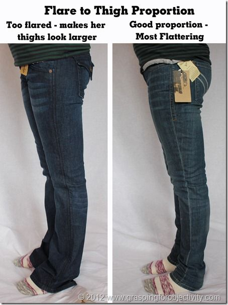 How to wear skinny jeans big thighs
