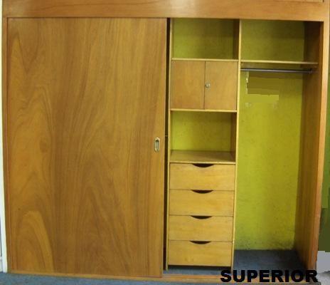 Cocinas y closets closets modernos y de madera closet for Diseno de interiores closets modernos