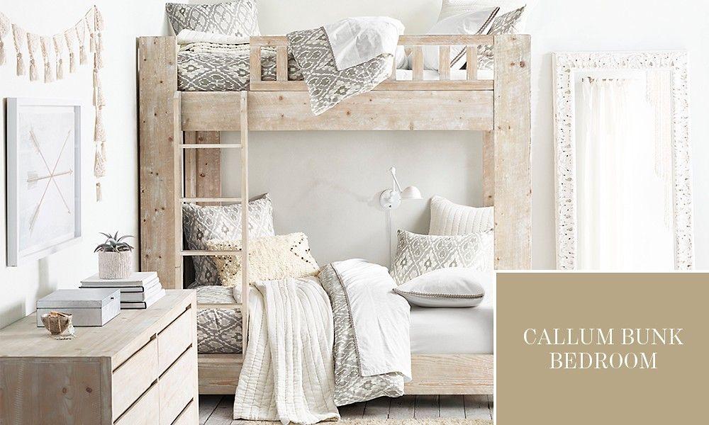 Callum Bunk Bedroom Weathered White Bunk Bed Designs Bunk Beds Remodel Bedroom