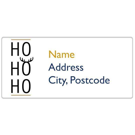 Ho Ho Ho Avery Template Designs For Christmas Christmas Lables