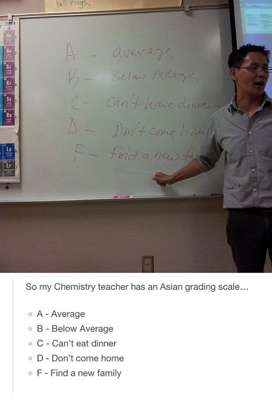 The Meaning Of Grades In Asia Funny Funny Quotes Tumblr Funny