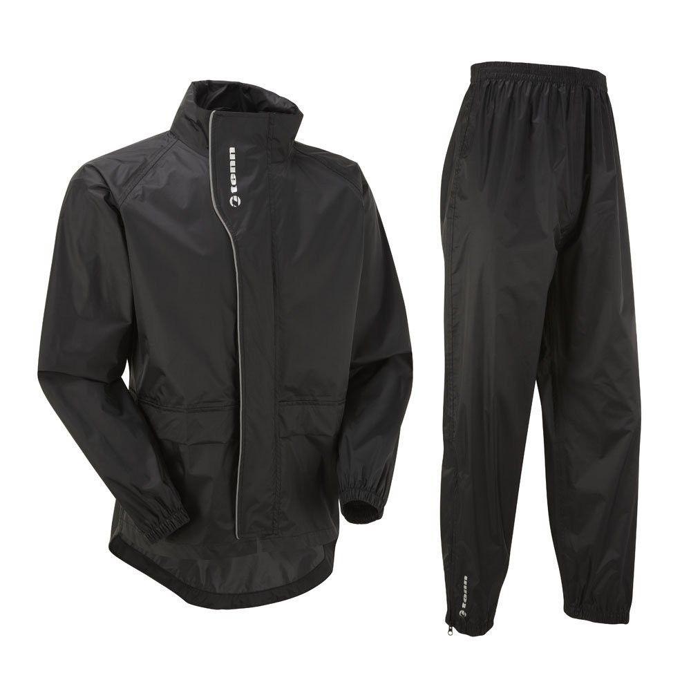 6bbd3328d Tenn Unisex Active Cycling Waterproof Jacket   Trouser Set - Black ...