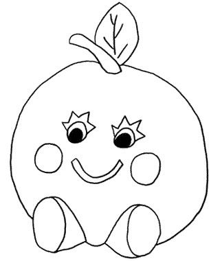 Meyvelerle Ilgili Anaokulu Boyama Sayfalari Coloring Pages Fruit Coloring Pages Coloring Books
