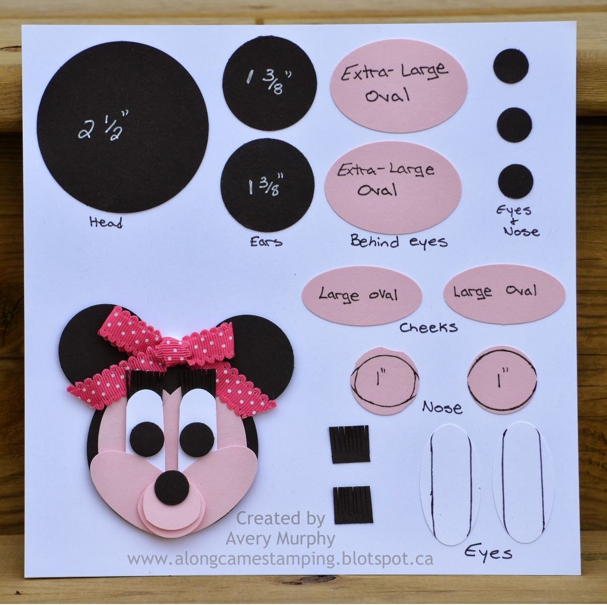Minnie Mouse Punch Art