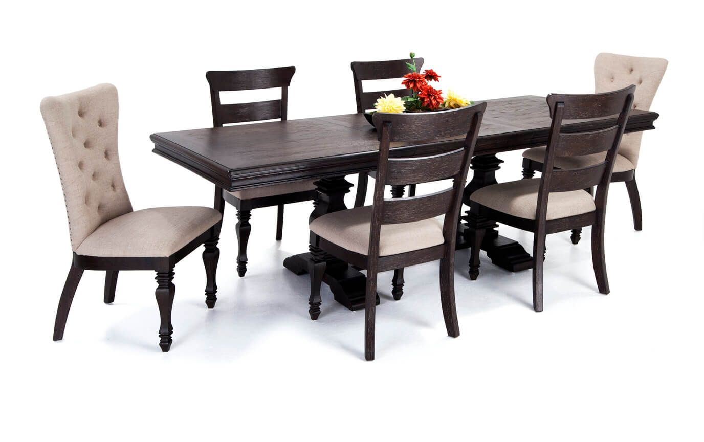 Riverdale 7 Piece Dining Set Bobs Discount Furniture Dining Room
