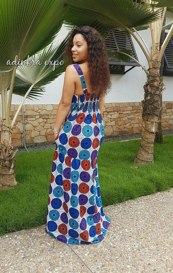 yaya african print maxi dress ankara dress ankara gown pagne robe pagne et mode africaine. Black Bedroom Furniture Sets. Home Design Ideas