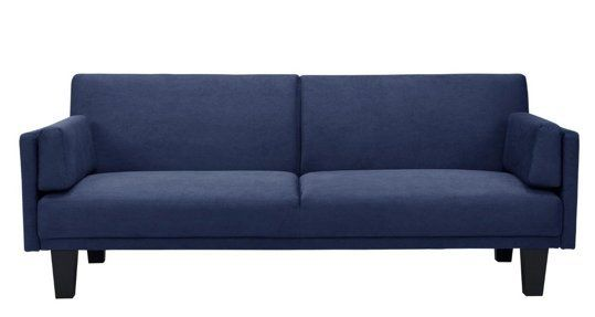 metro futon navy   dorel home product   target your guests will thank you  10 sleeper sofas under  500   sleeper      rh   pinterest