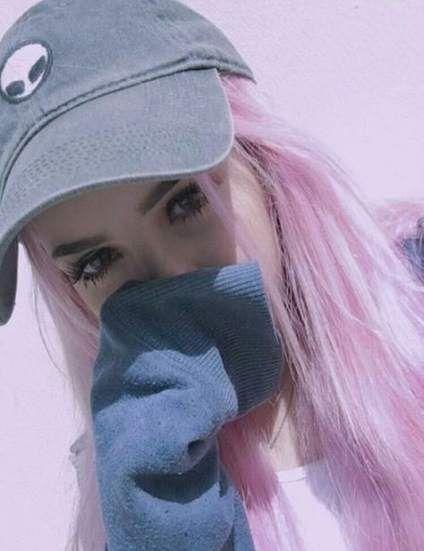 Super Hair Pink Ulzzang 29 Ideas #hair | Tumblr hair, Pink ...