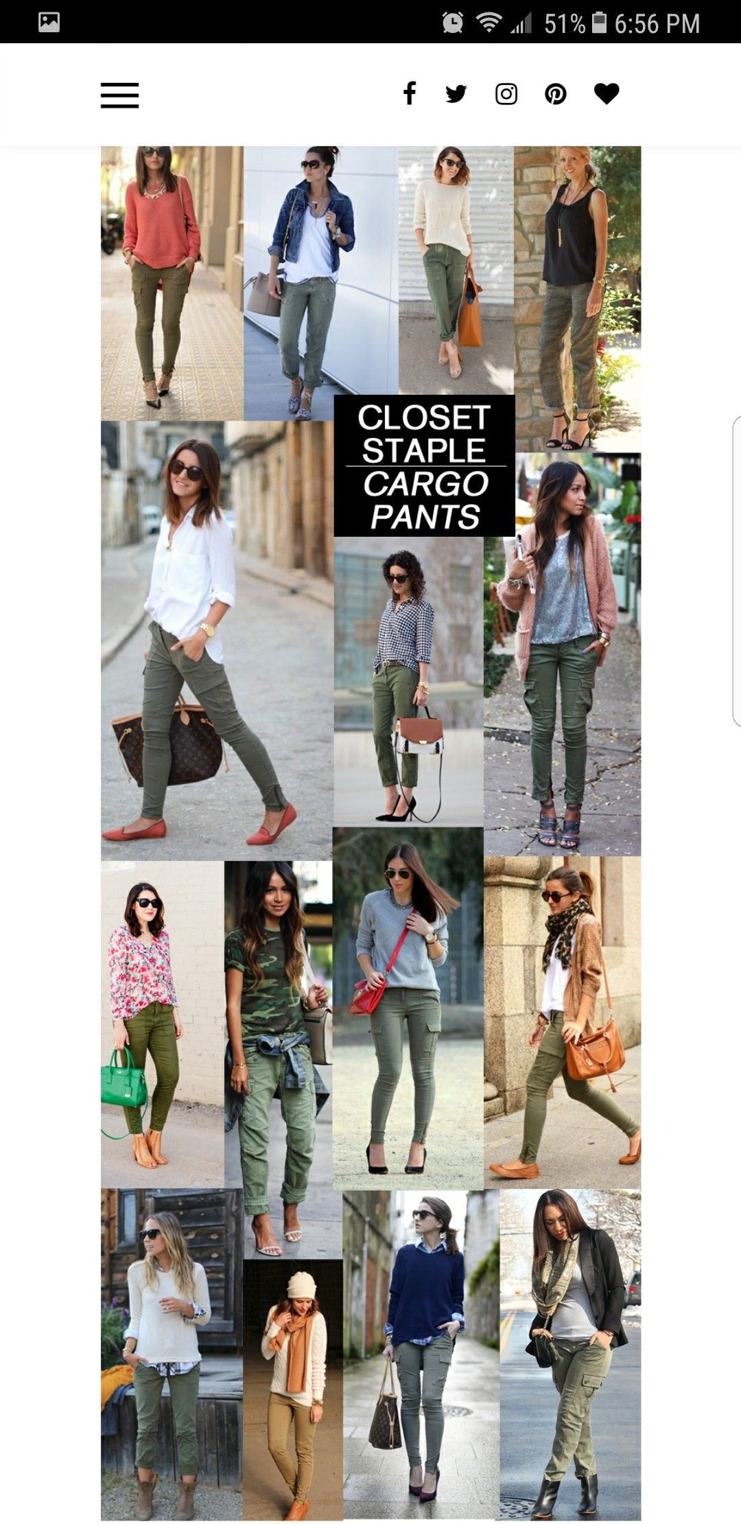 MUST have cargo pants!! | How to wear jeans, Mode looks und