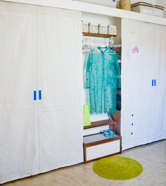 Cortinas Para Closet De Tela