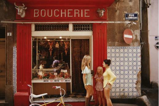 Boucherie Saint-Tropez, 1971
