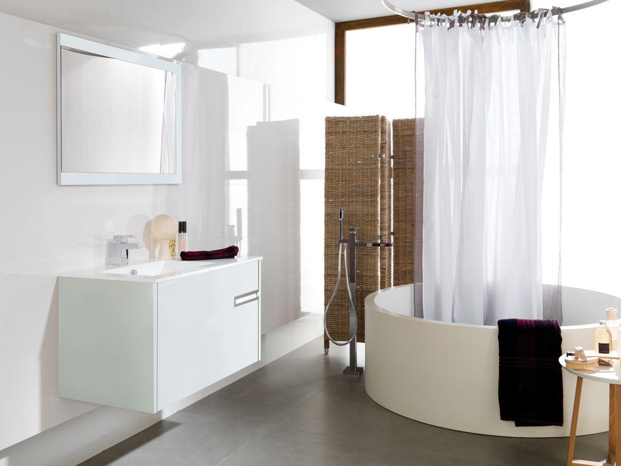 mobilier por la salle de bains  Mobilier salle de bain, Meuble
