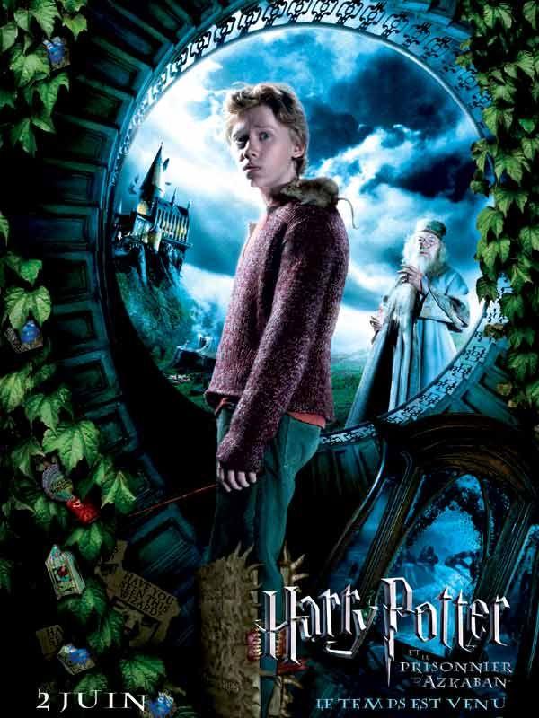 Affiche Harry Potter Et Le Prisonnier D Azkaban Ronald Harry Potter Filmleri Prisoner Of Azkaban Harry Potter
