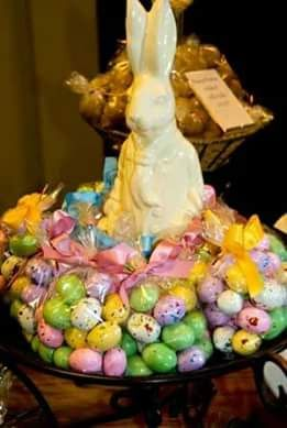 Tea thyme cottages post easter bunny pinterest explore easter centerpiece easter decor and more negle Choice Image