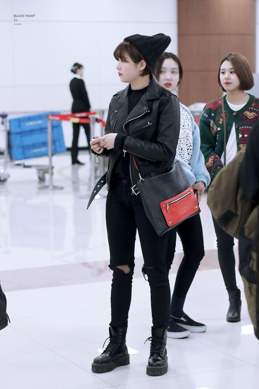 Team Twice C Black Paint Do Not Edit Model Pakaian Bandara Mode Korea Tips Bergaya