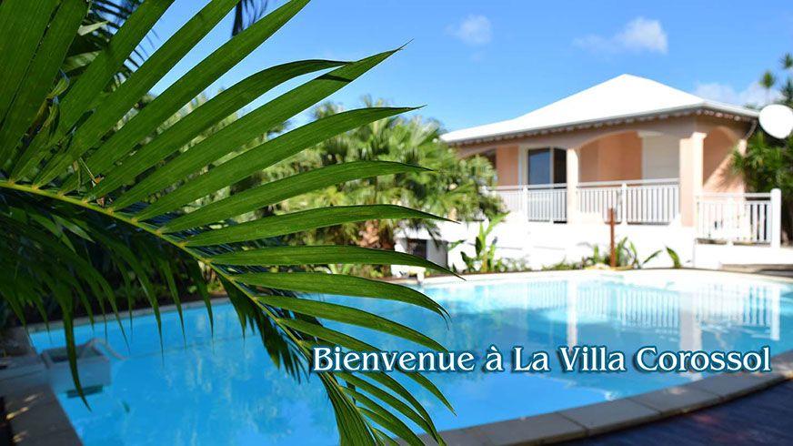 Villa Corossol Marine Location Vacances Deshaies Guadeloupe