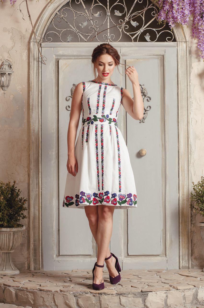 Дизайнерська сукня вишита  продажа c9d64d3b022b3