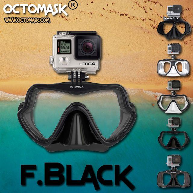 425ebf715f80 OCTOMASK - FRAMELESS BLACK!!!!!!! Choose your favorite gopro scubamask and  scubagear!!! www.octomask.com or from your favorite dealer or scuba shop!!!