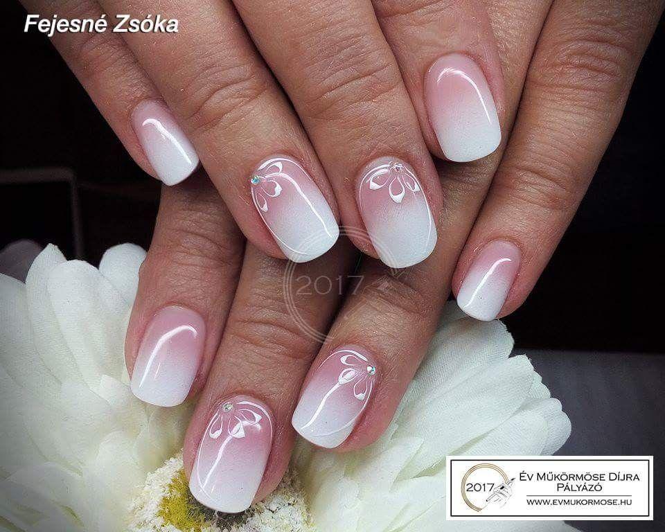 Schone Nagel Fur Mich French Nails Naildesign Trendige Nagel