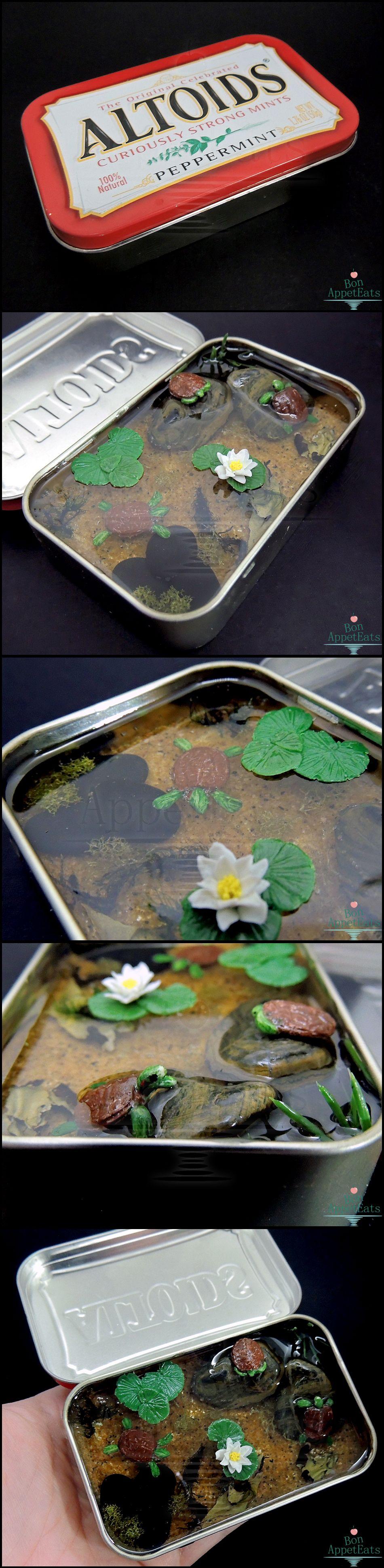Commission: Large Altoids Turtle Pond by Bon-AppetEats.deviantart.com on @deviantART
