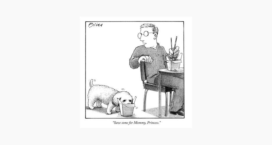 #food #eating #cooking #newyorker #cartoons #humor #satire #lol #fdork