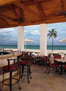 Latitudes Restaurant Is Along The Famed Hollywood Beach
