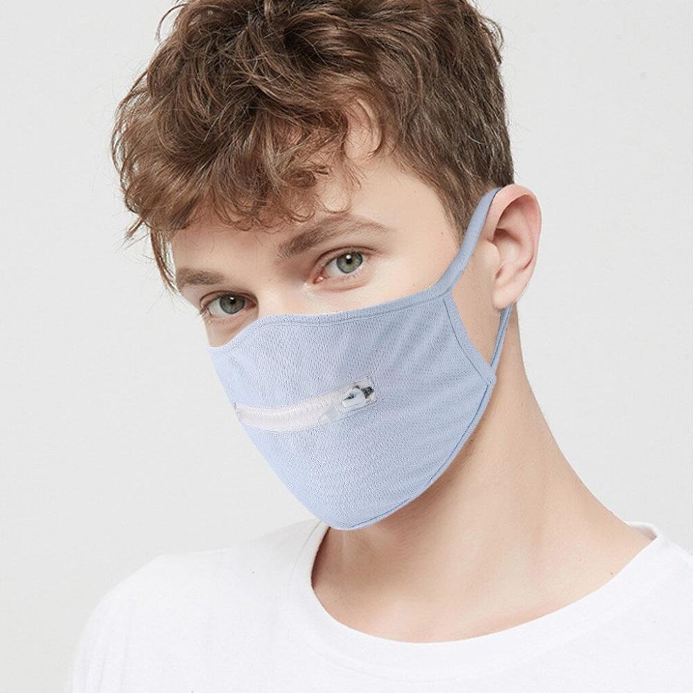 Washable Protective Mask Men & Women Reusable Zipper Mask