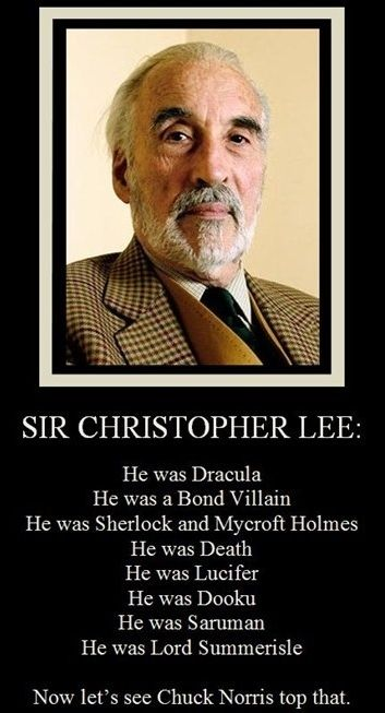 He Was Part Of A Secret Agent Unit Called The Ministry Of Ungentlemanly Warfare When Told By Peter Jackson To Imagine How A Man Be Chuck Norris Dracula Norris