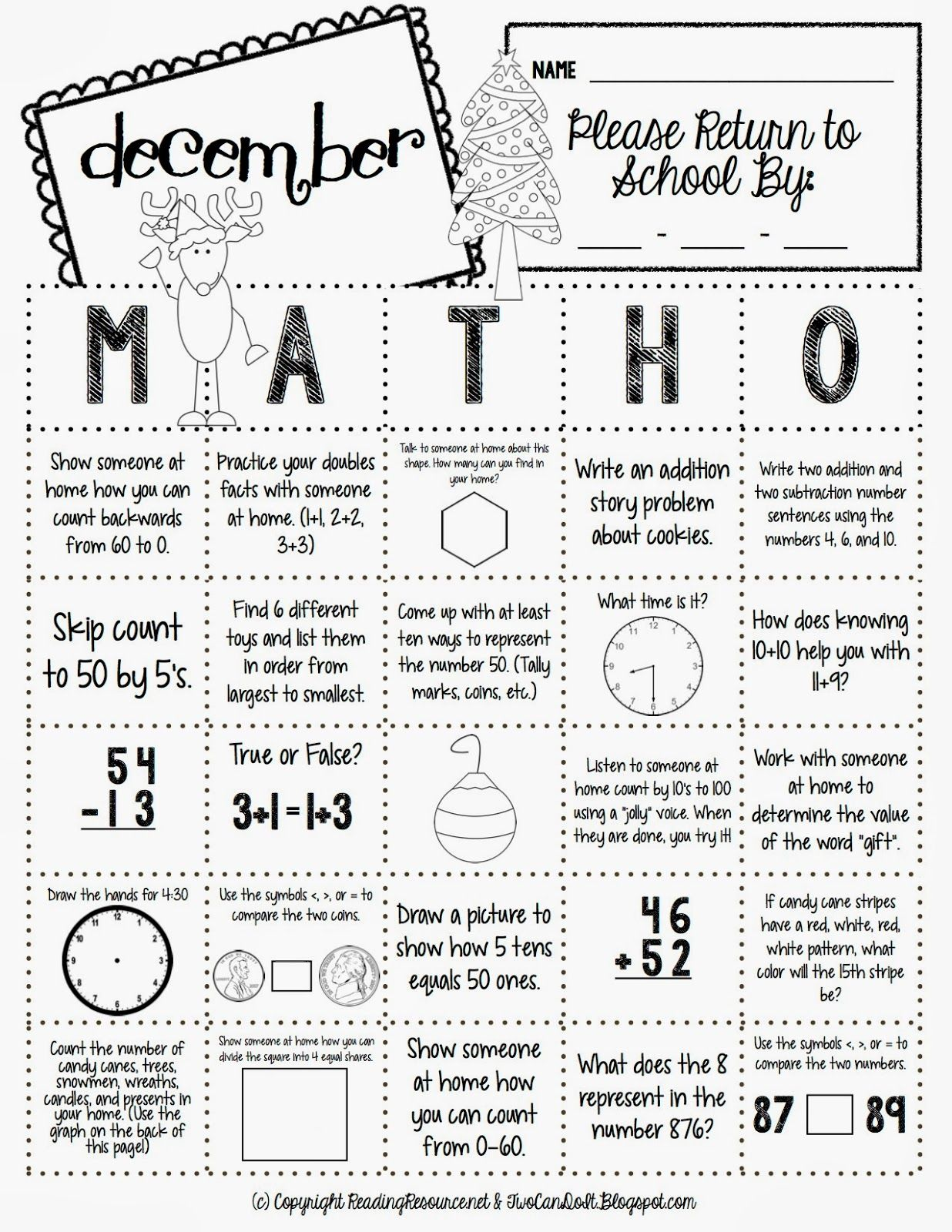 Math O This Would Be A Great Early Finisher Activity