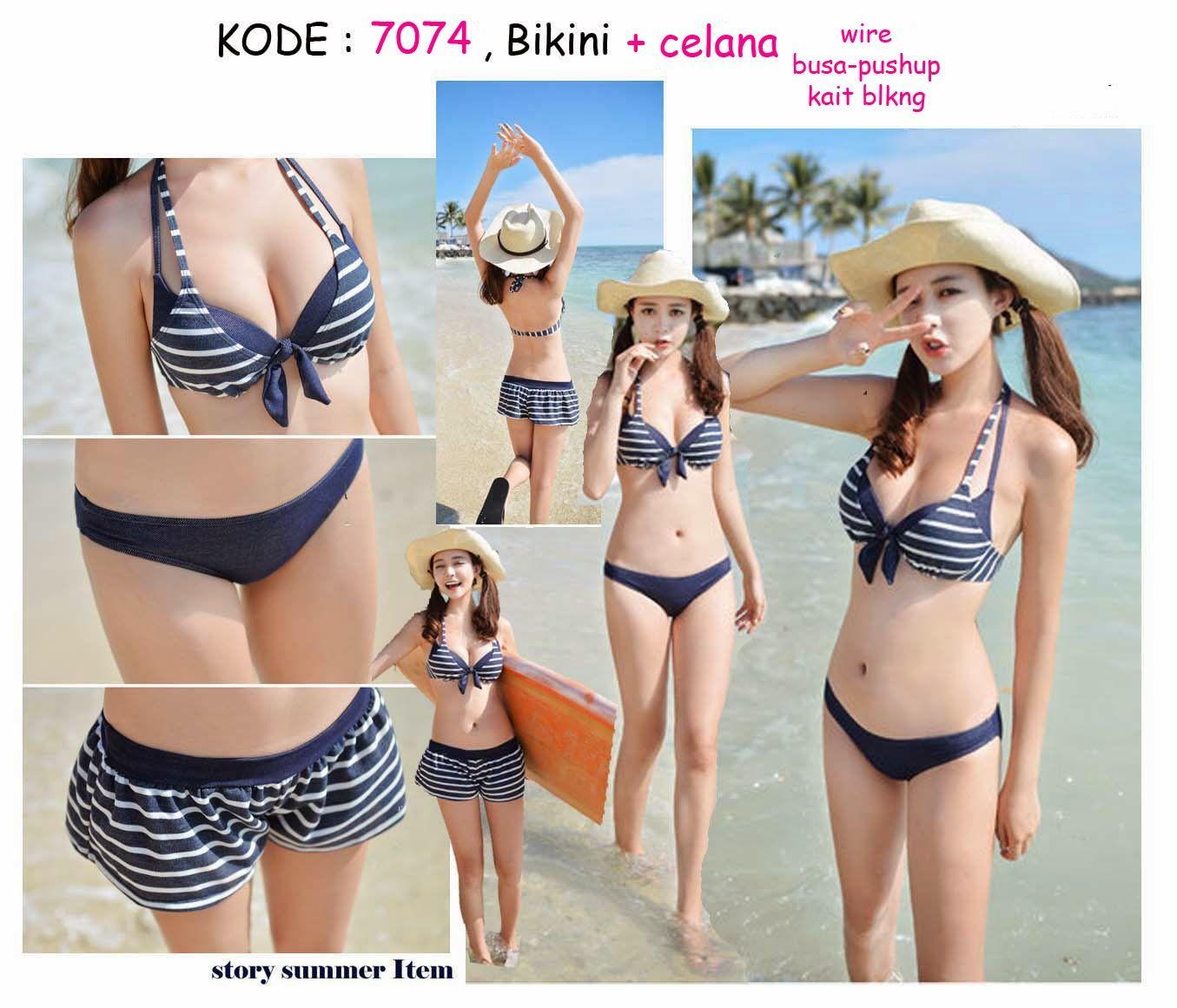 43d33d01e49 7074-240rb Jual bikini celana set pushup halter pantai bali   BIkini ...