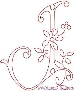 Hand Embroidery Patterns For Letter J Yahoo Image Search Results