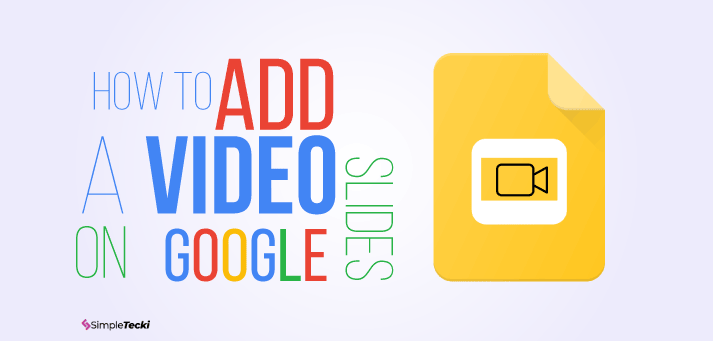 This Tutorial Shows How To Add A Video Into Google Slides In Few Steps Youtube And Non Tube Video Can Be Easily Emb In 2020 Google Slides How To Memorize Things Video