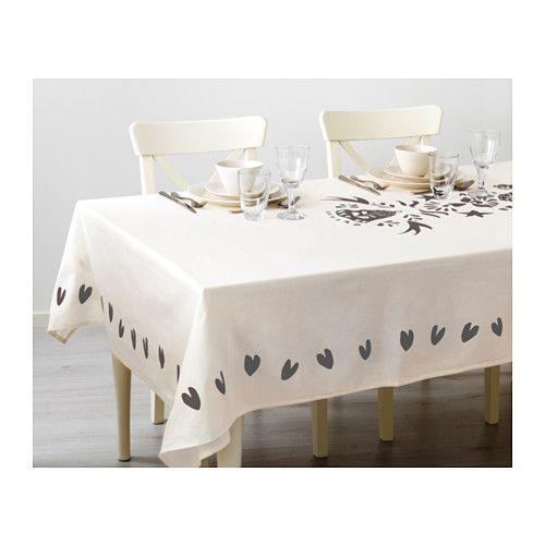 vinter 2016 nappe ikea id es resto d co pinterest nappe blanche nappes et gris. Black Bedroom Furniture Sets. Home Design Ideas