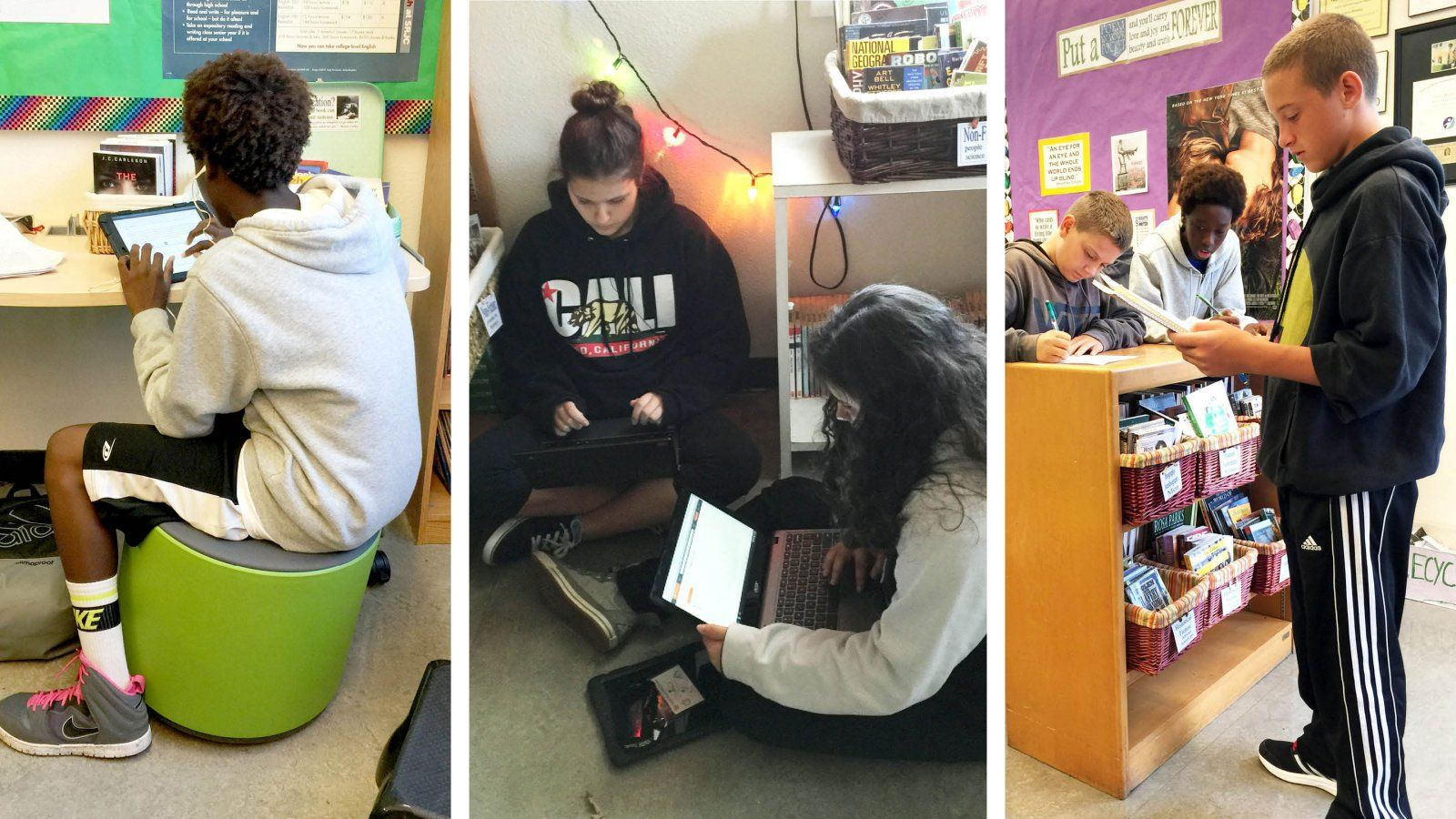 Classroom Design Essay : Photo essay a flexible seating how to middle school teachers