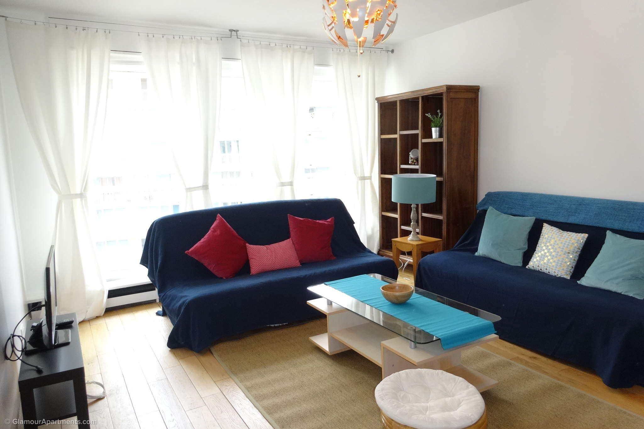 1bedroom furnished apartment for rent at Rue de la