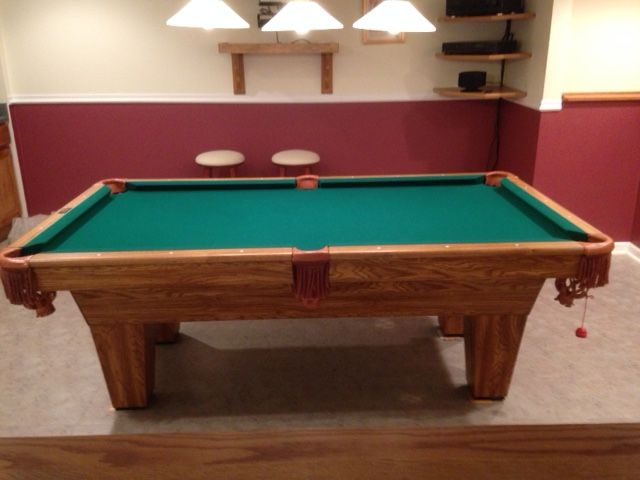 Brunswick Billiards Scottsdale Pool Table Excellent Condition - Craftmaster pool table