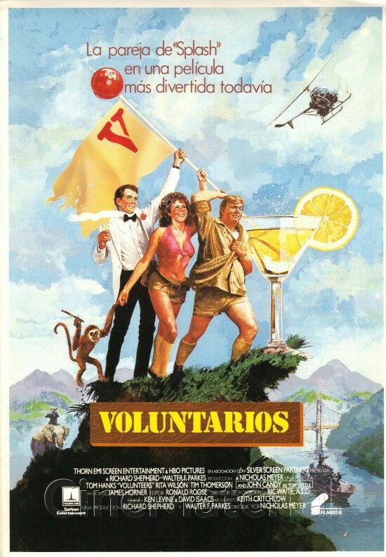 Volunteers 1985 Best Movie Posters Alternative Movie Posters Volunteer
