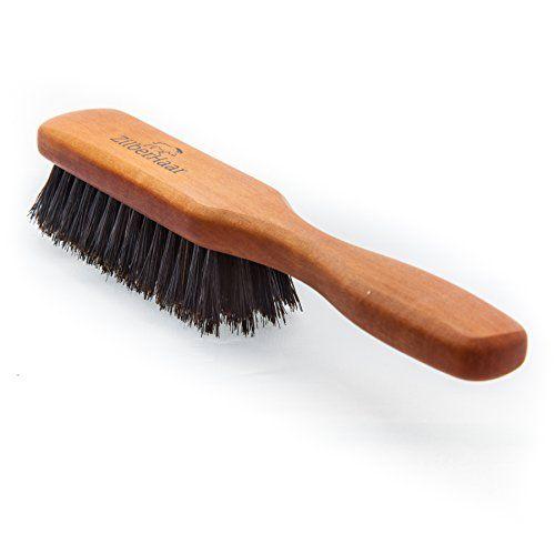 Zilberhaar Beard Brush Soft Bristles 100 Boar Bristle German Pearwood Works With All Beard Balms Oils Made In Germany Beard Balm Beard Brush Boar Bristle