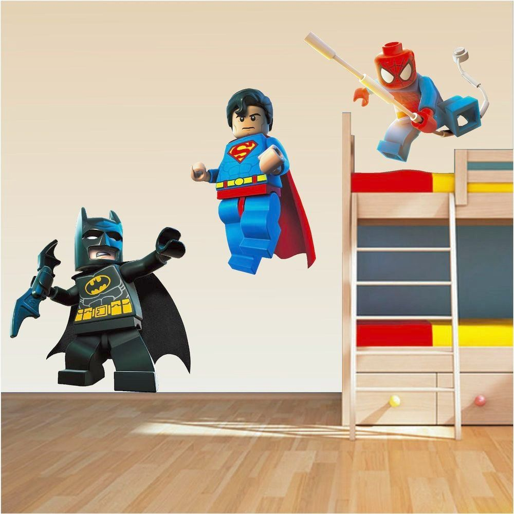 2019 Superhero Wall Decals For Kids Rooms   Interior Design Ideas For  Bedroom Check More At
