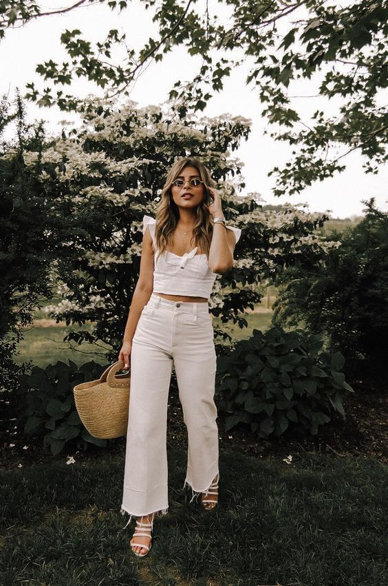 30 + All-White Outfits That I Will Be Copying All Summer Long - Style in the Way