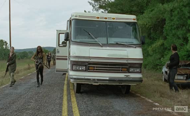 Grupo de Rick - The Walking Dead s06e12
