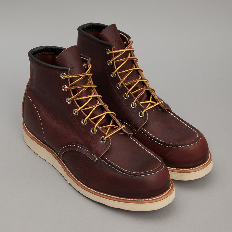 e1397d1489e Red Wing Classic Moc Toe Boot-Dark Brown | Products I Love | Boots ...