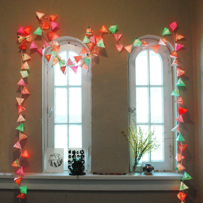 best 25 light garland ideas on pinterest christmas. Black Bedroom Furniture Sets. Home Design Ideas